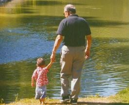 Granfather and Grandson
