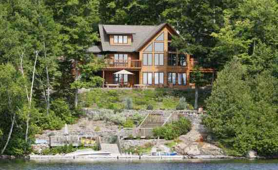 Haliburton cottage evaluation for Waterfront cottage
