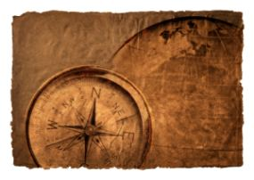 Just a Rustic Compass Picture