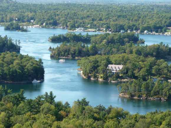 Thousand Island Famous Homes