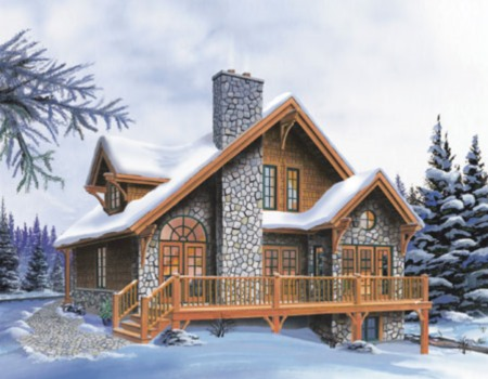 Small House Floor Plans For Cottage, Ranch Or Vacation Homes