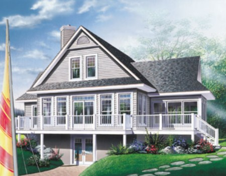 house plans with walkout basement on cottage lake house plans