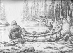 Print by Northern Artist A. Klussmann