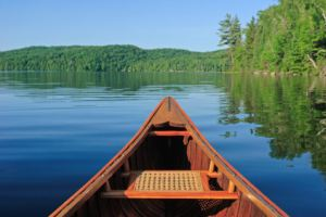 Quiet Canoe Ride